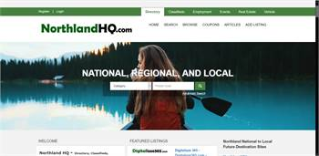 NorthlandHQ.com  - National to local Directory, Classifieds, Employment, Events, Rentals, Real Estat